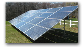 Solar Panel Array by Southcoast Greenlight